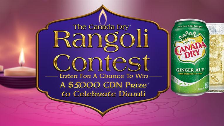 Canada-Dry-Rangoli-$5,000-Contest